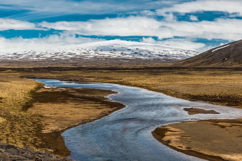 Fluss im Hochland