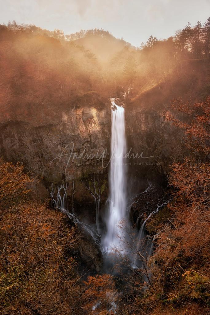 Am gigantischen Wasserfall