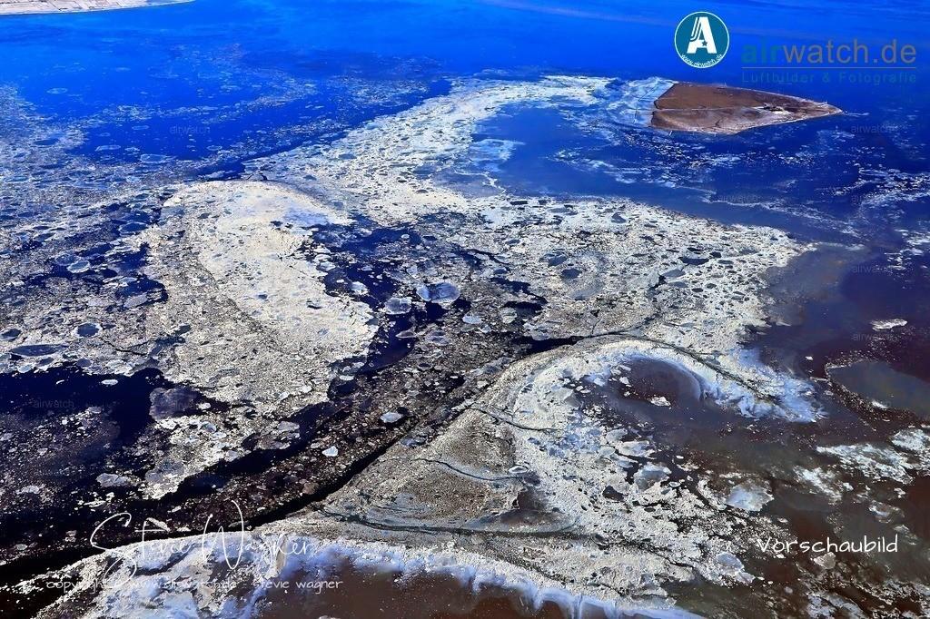 Winter Luftbilder, Nordsee, Nordfriesland, Hallig Süderoog   Winter Luftbilder, Nordsee, Nordfriesland, Hallig Süderoog