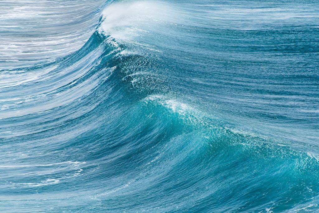 Türkisfarbene Welle an der Küste von Fuerteventura   Best. Nr. e_2017_02_1513