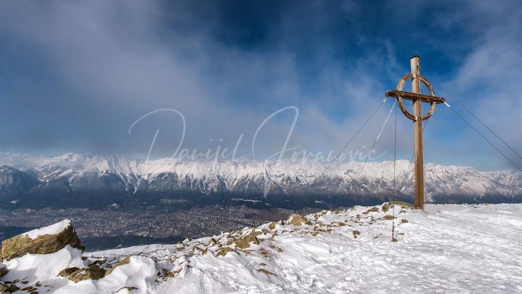 Patscherkofel | Blick vom Gipfel des Patscherkofel auf Innsbruck und die Nordkette