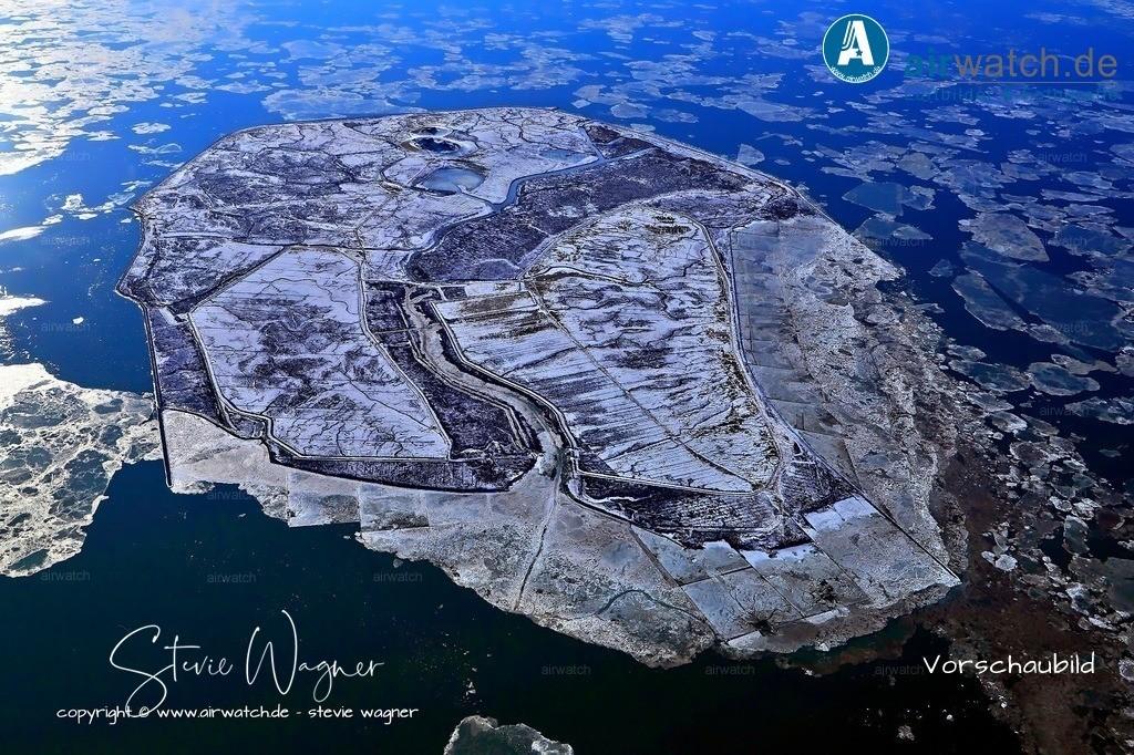 Winter Luftbilder, Nordsee, Nordfriesland, Hallig Groede | Winter Luftbilder, Nordsee, Nordfriesland, Hallig Groede
