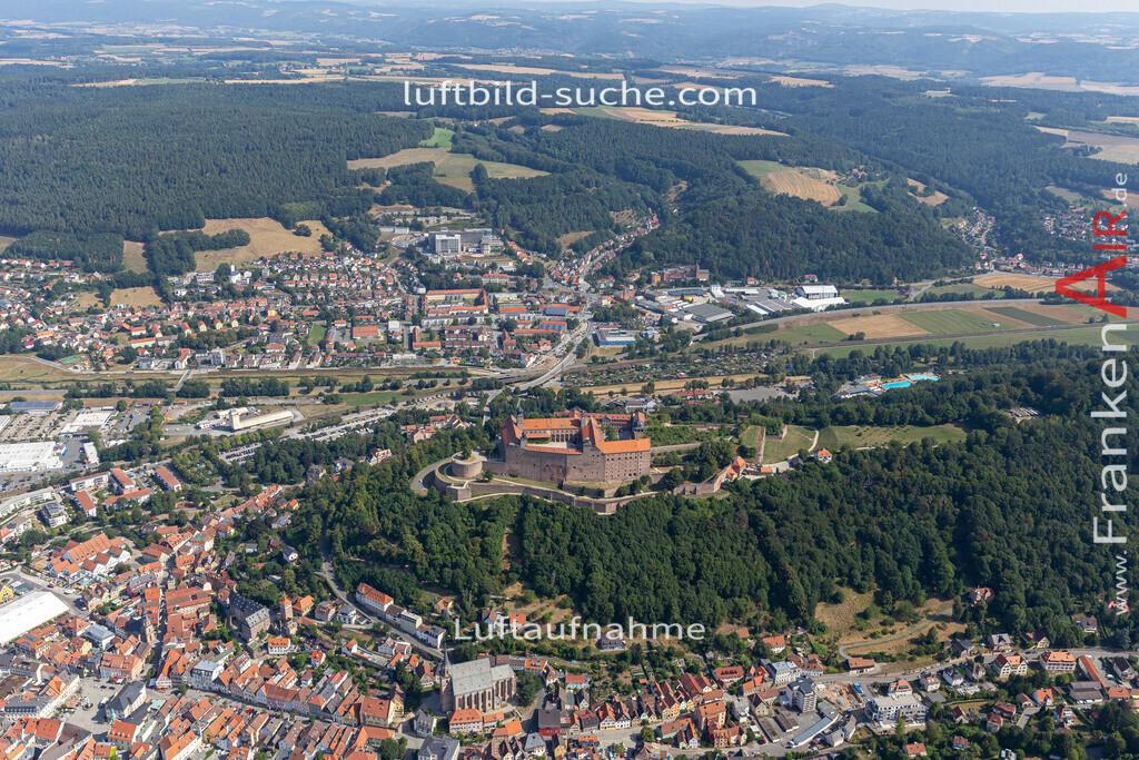 plassenburg-kulmbach-19-678 | aktuelles Luftbild von Plassenburg  Kulmbach - Luftaufnahme wurde 2019 von https://frankenair.de mittels Flugzeug (keine Drohne) erstellt.