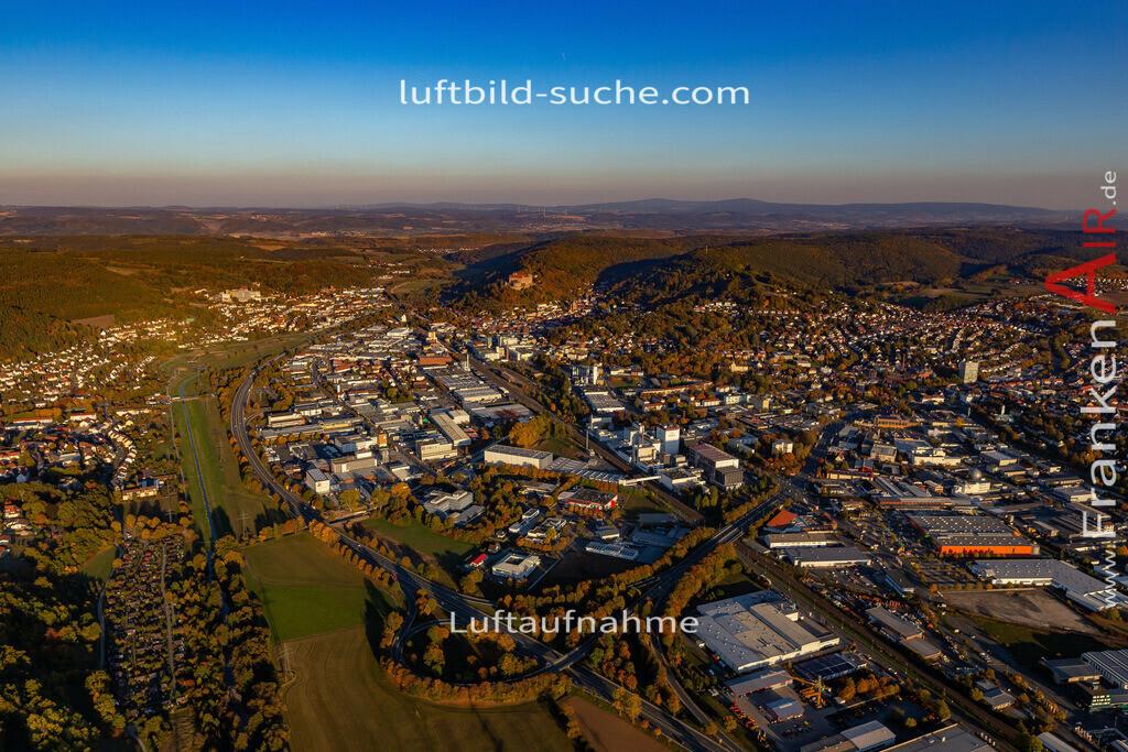 kulmbach-18-2792 | aktuelles Luftbild von  Kulmbach - Luftaufnahme wurde 2018 von https://frankenair.de mittels Flugzeug (keine Drohne) erstellt.