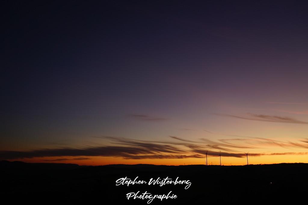 Sunset Rockenhausen | Tropischer Sonnuntergang bei Rockenhausen Nähe Inkelthalerhof