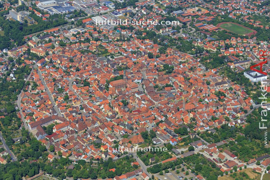 bad-windsheim-2015-1611 | Luftbild von  Bad-windsheim - Luftaufnahme wurde 2015 von https://frankenair.de mittels Flugzeug (keine Drohne) erstellt - die Geschenkidee