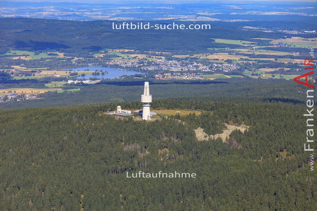 schneeberg-17-5390 | Luftbild von Schneeberg  - Luftaufnahme wurde 2017 von https://frankenair.de mittels Flugzeug (keine Drohne) erstellt - die Geschenkidee