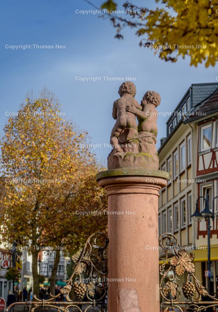 Bensheim_Hospitalbrunnen | Bensheim, Abtrakt, Herbstlich, Hospitalbrunnen, Stadtmagazin 39, , ,, Bild: Thomas Neu