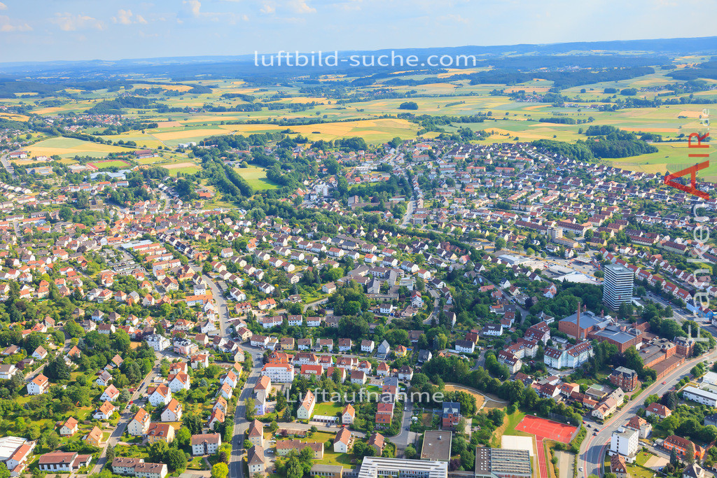 luftbild-kulmbach-2014-3090 | Luftbild von  Kulmbach - Luftaufnahme wurde 2014 von https://frankenair.de mittels Flugzeug (keine Drohne) erstellt - die Geschenkidee