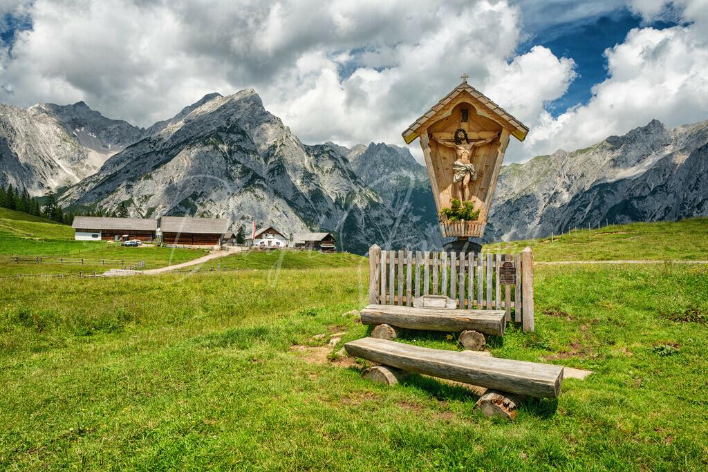 Walderalm | Die idyllische Walderalm im Karwendel