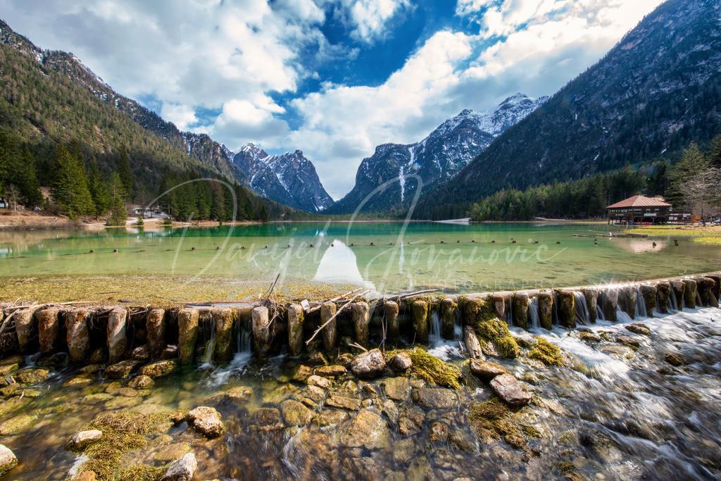 Toblacher See | Der Toblacher See am Weg zu den Drei Zinnen