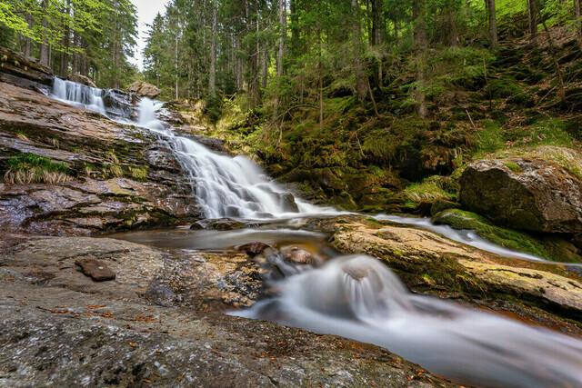 Rißlochwasserfälle   Bayerischer Wald