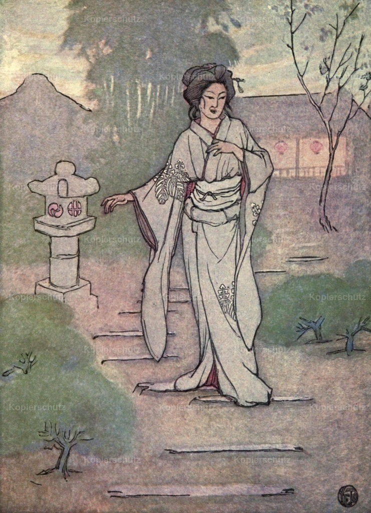Yeto_ Genjiro (1867-1924) - A Japanese Nightingale 1904 - Nightingale song