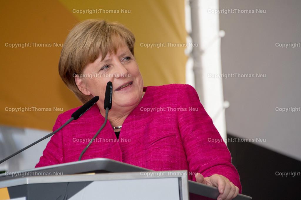 DSC_7588 | Heppenheim, Wahlveranstaltung, CDU, Angela Merkel auf dem parkhof, , ,, Bild: Thomas Neu