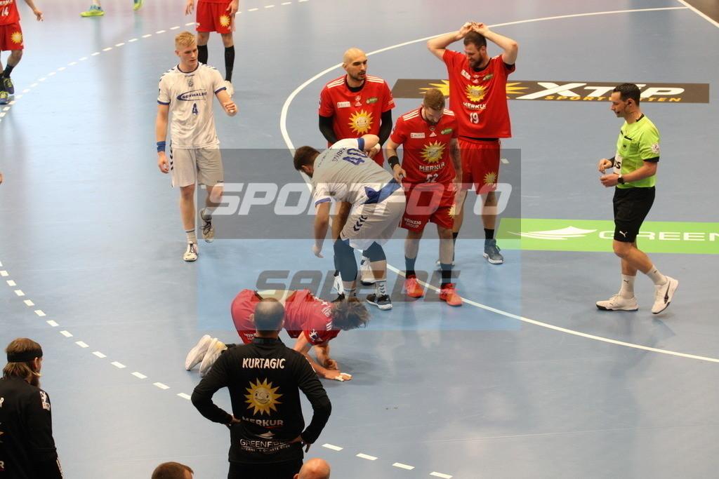 TUS N. Lübbecke - VFL Gummersbach | Spielszene Jonas Stüber - © by K-Media-Sports / Sportfoto-Sale.de