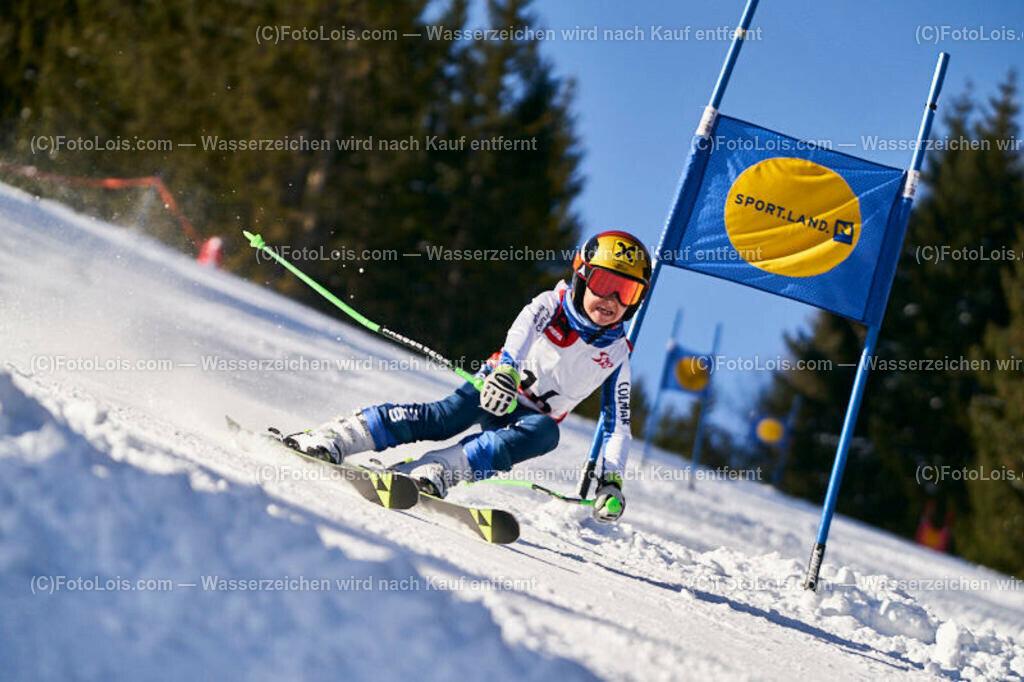 0150_KinderLM-RTL-I_Trattenbach_Bachler Luca | (C) FotoLois.com, Alois Spandl, NÖ Landesmeisterschaft KINDER in Trattenbach am Feistritzsattel Skilift Dissauer, Sa 15. Februar 2020.