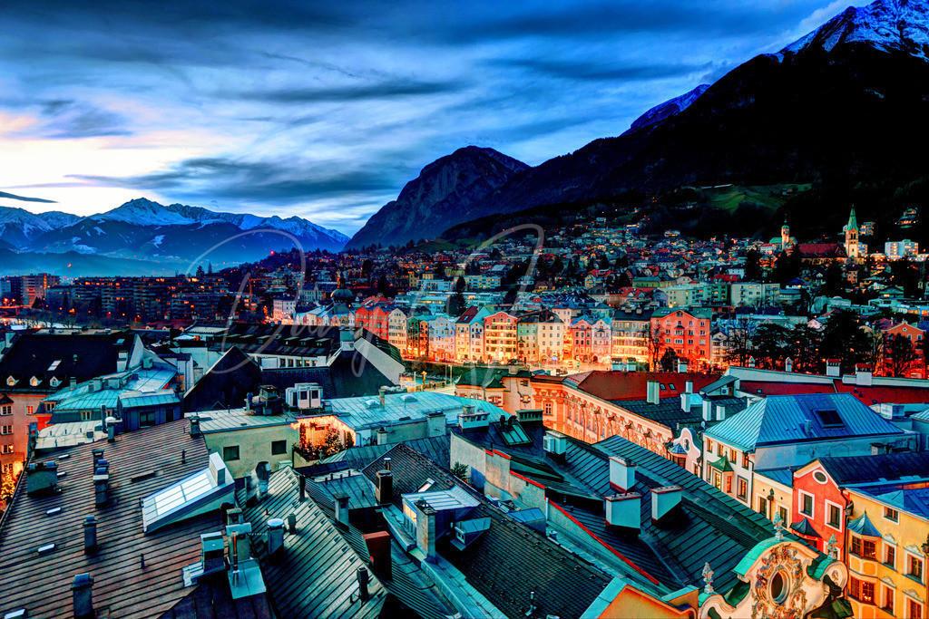 Innsbruck | Blick in den Westen von Innsbruck