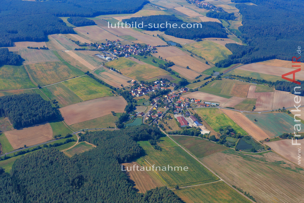 bergheim--2016-2887 | Luftbild von Bergheim Gutenstetten - Luftaufnahme wurde 2016 von https://frankenair.de mittels Flugzeug (keine Drohne) erstellt - die Geschenkidee