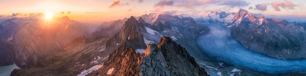 Swiss Alps Panorama
