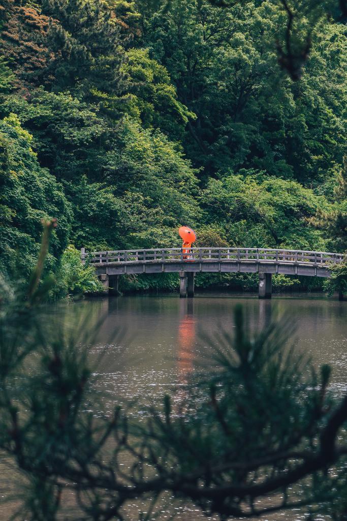 Brücke Sankei En Garten Yokohama Japan | Brücke Sankei En Garten Yokohama Japan