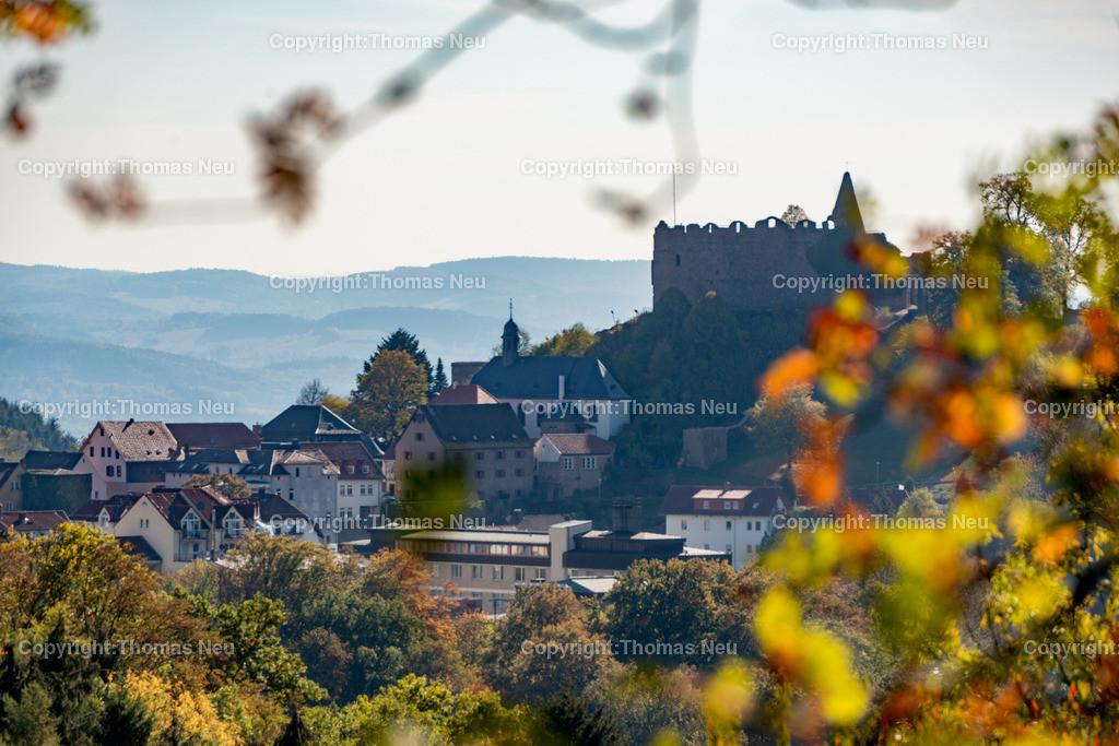 DSC_2256 | Lindenfels, Panorama, der Burg im Herbst,