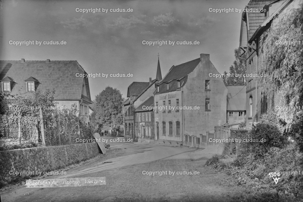 Asbach Hauptstr. Gasthof Göttner 1948_1