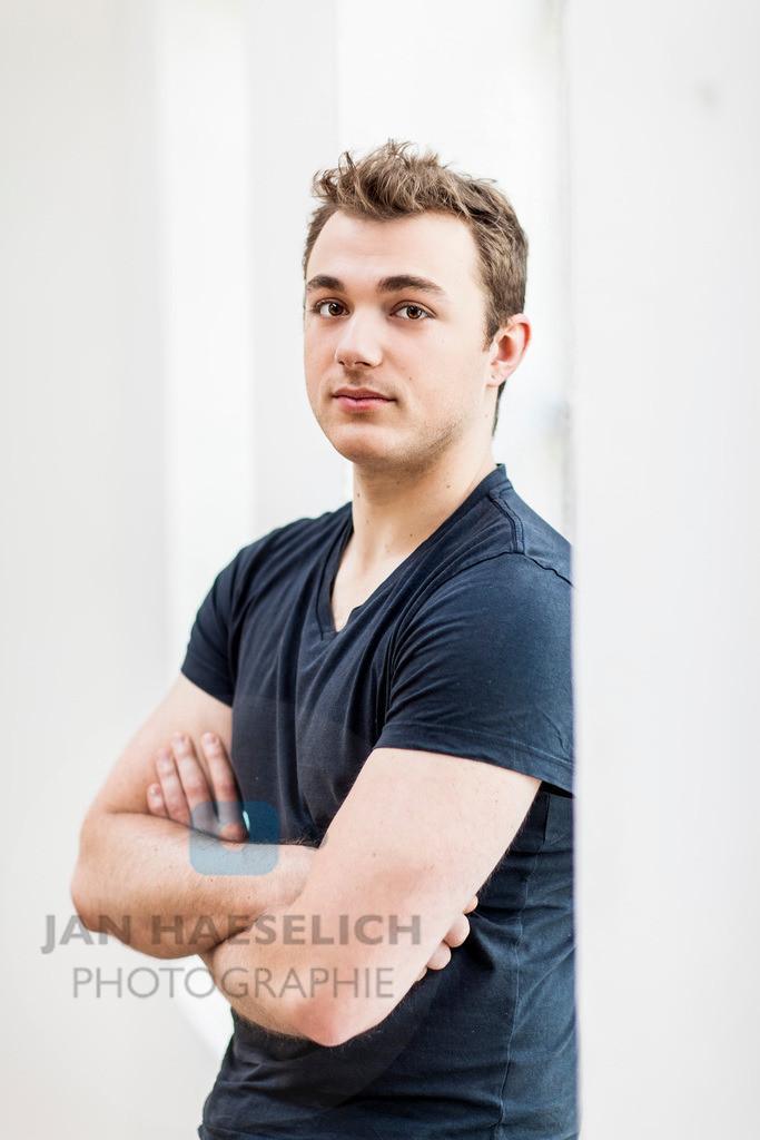 Moritz von Zeddelmann | Moritz von Zeddelmann beim Fototermin zur neuen ARD Vorabendserie