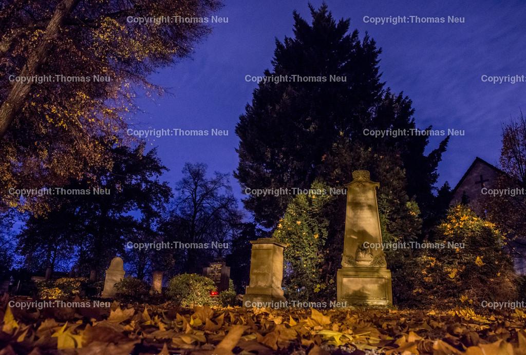 Friedhof-6 | Bensheim,Friedhof Mitte, Bergstrasse bei Nacht, ,, Bild: Thomas Neu