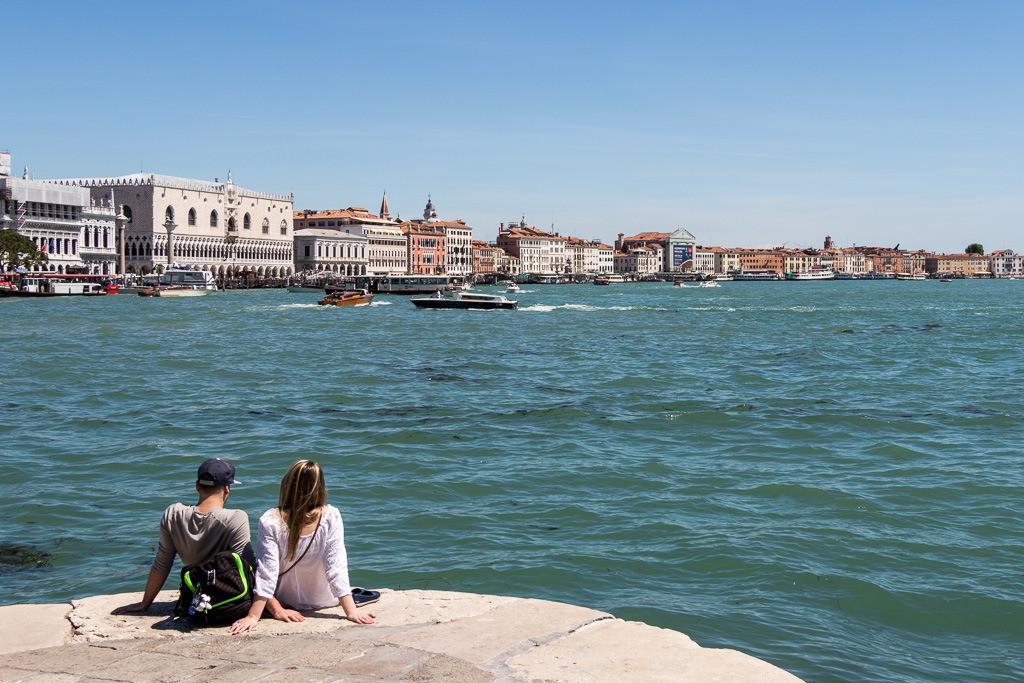 Pärchen in Venedig
