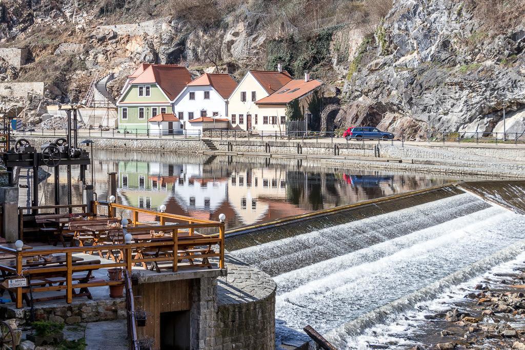 Moldau in Cesky Krumlov