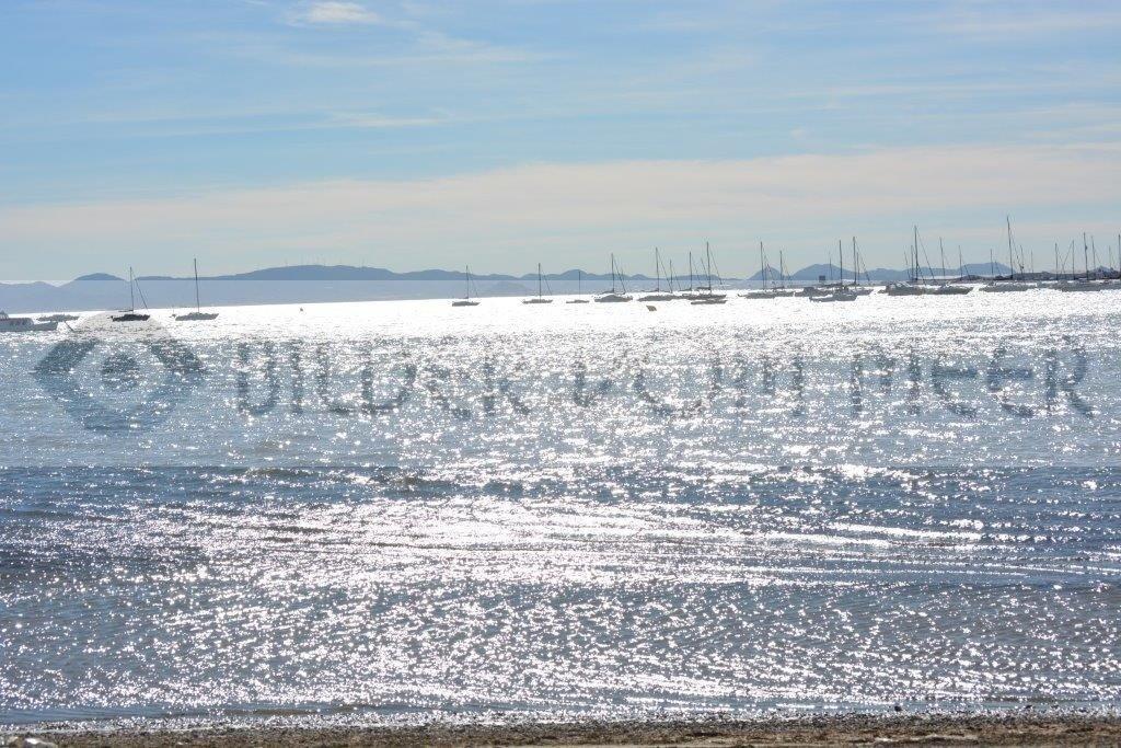 Strand Bilder vom Meer |  DasGlitzern der Sonne im Mar Menor