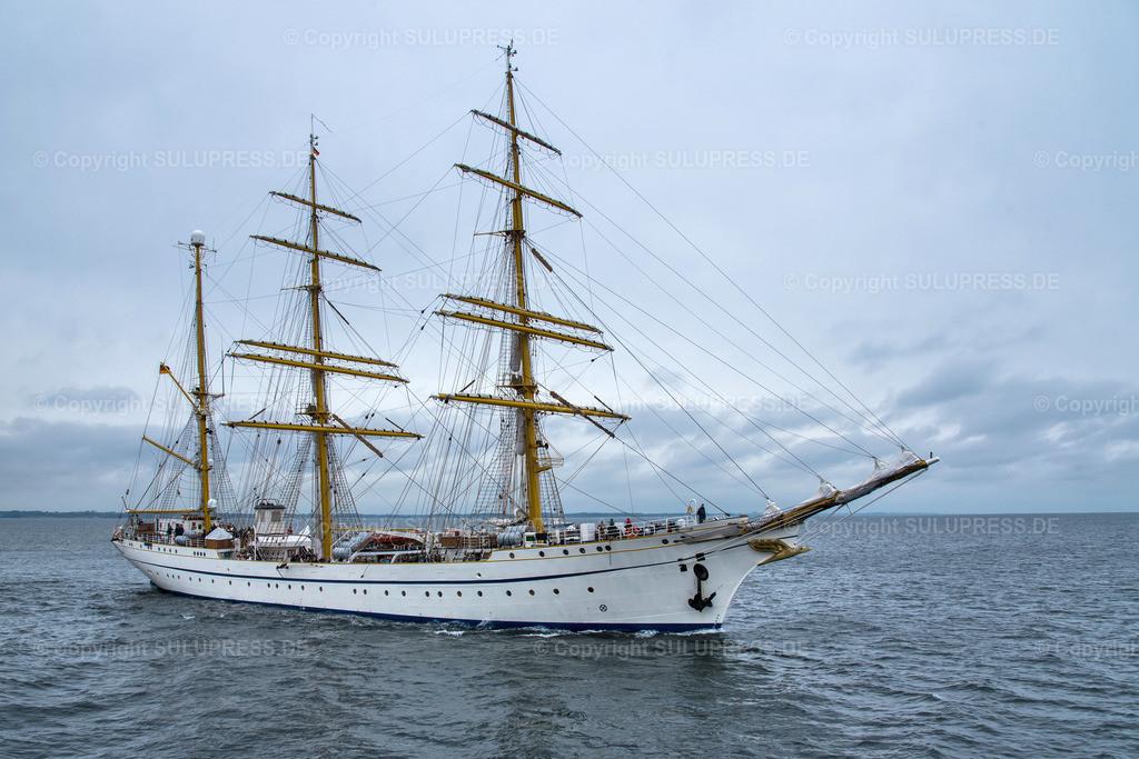 Gorch Fock Rückkehr nach Kiel   Kiel, nach fast sechs Jahren und einer vollständigen Grundinstandsetzung für 135 Millionen Euro kehrt das Segelschulschiff Gorch Fock (Bj. 1958) in seinen Heimathafen nach Kiel zurück.