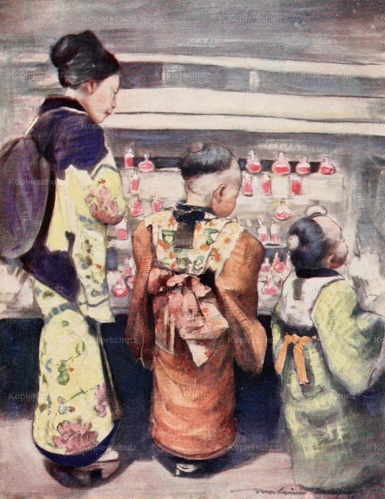 Menpes_ Mortimer (1855-1938) - Japan 1901 - Sugar-water stall