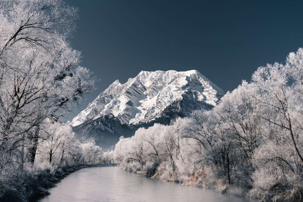 Frostiges Grimmingpanorama | Enns - Grimming