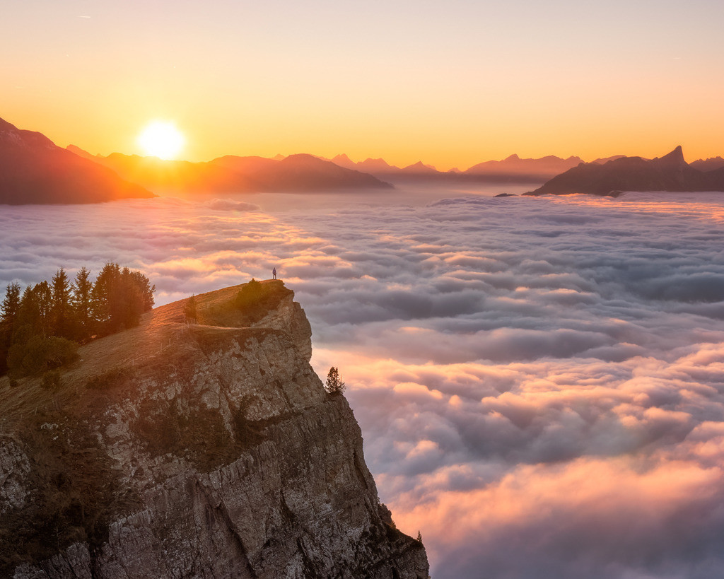 Out Of Sight | Over the clouds in the Bernese Oberland.