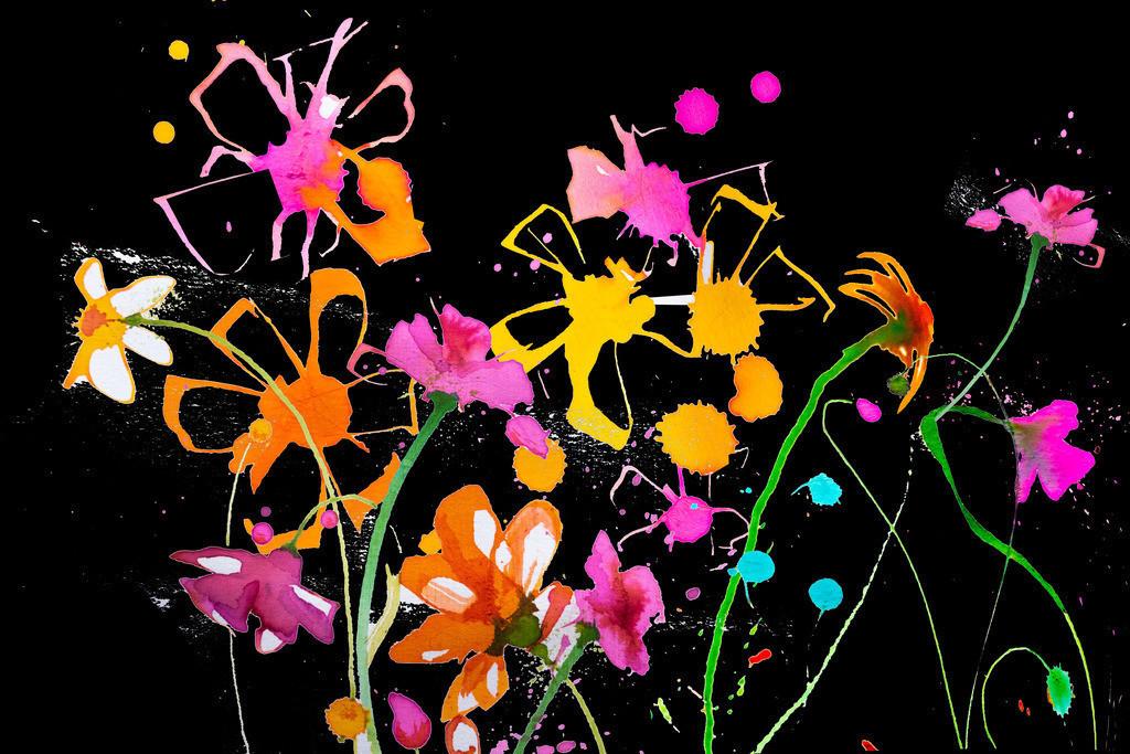 Blumen-Motiv-3 | Projektionsmotive der Kunstevents