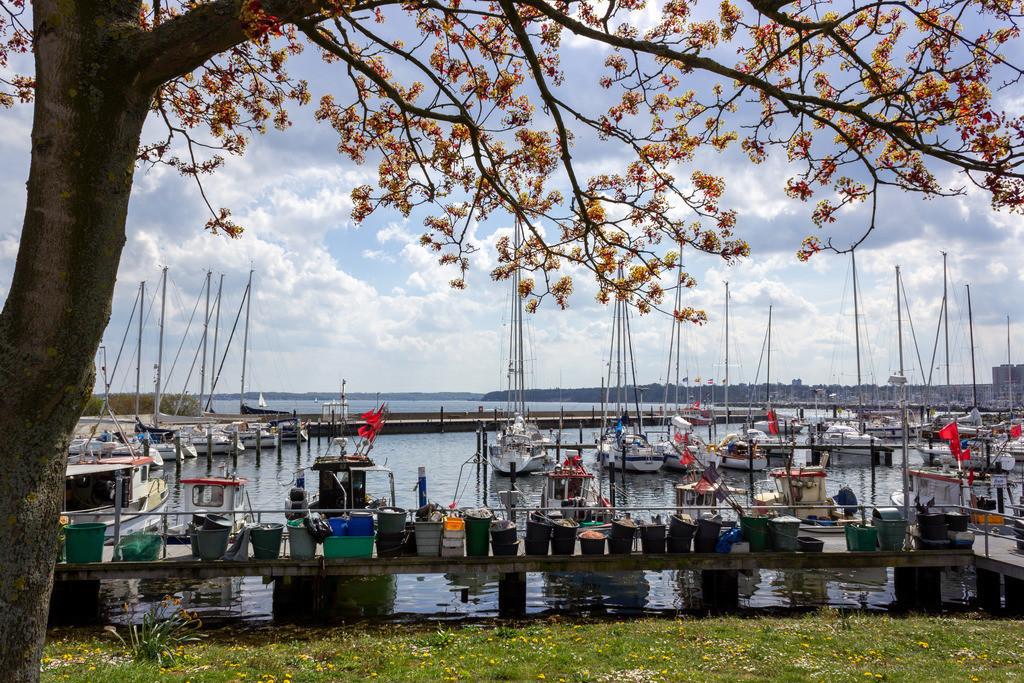 Hafen in Strande | Hafen in Strande im Frühling