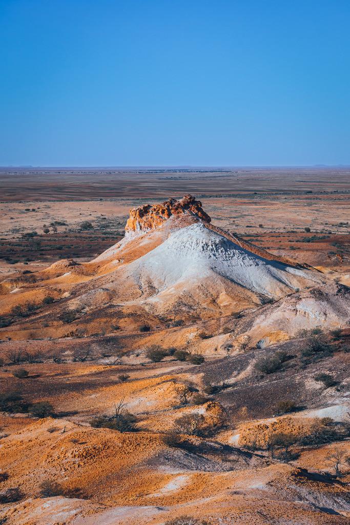 Breakaways Berg Formation   Breakaways Berg Formation bei Coober Pedy Australien