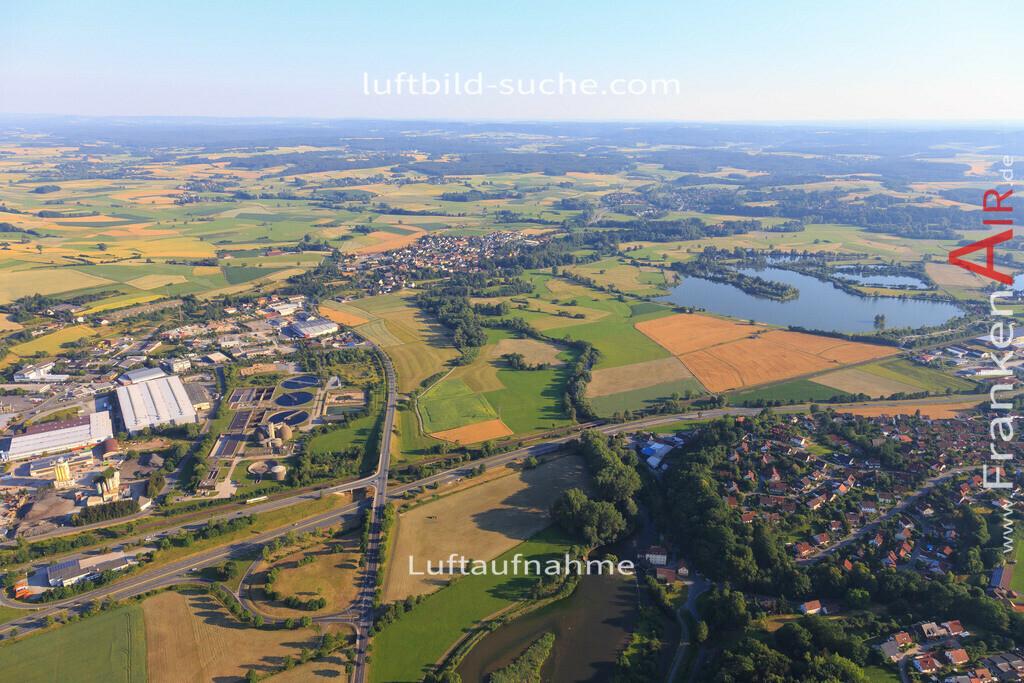 burghaig-kulmbach-2015-1470 | Luftbild von Burghaig Kulmbach - Luftaufnahme wurde 2015 von https://frankenair.de mittels Flugzeug (keine Drohne) erstellt - die Geschenkidee