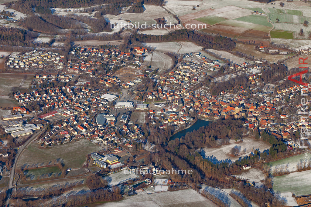 thurnau-19-157 | aktuelles Luftbild von  Thurnau - Luftaufnahme wurde 2019 von https://frankenair.de mittels Flugzeug (keine Drohne) erstellt.
