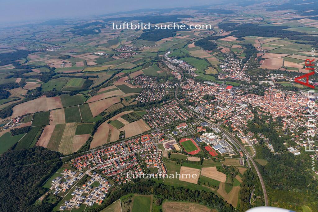 neustadtaisch-19-311 | aktuelles Luftbild von  Neustadtaisch - Luftaufnahme wurde 2019 von https://frankenair.de mittels Flugzeug (keine Drohne) erstellt.