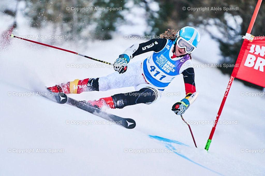 ALS5742_WWMG_GS-II_C | (C) FotoLois.com, Alois Spandl, WinterWorldMastersGames 2020 Innsbruck, Giant Slalom-II Gruppe C Damen, Patscherkofel Olympiaabfahrt, Mi 15. Jänner 2020.