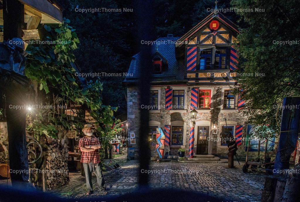 _DSC1680   Bergstrasse bei Nacht, Siegfried Speckhardts Muehle, ,, Bild: Thomas Neu