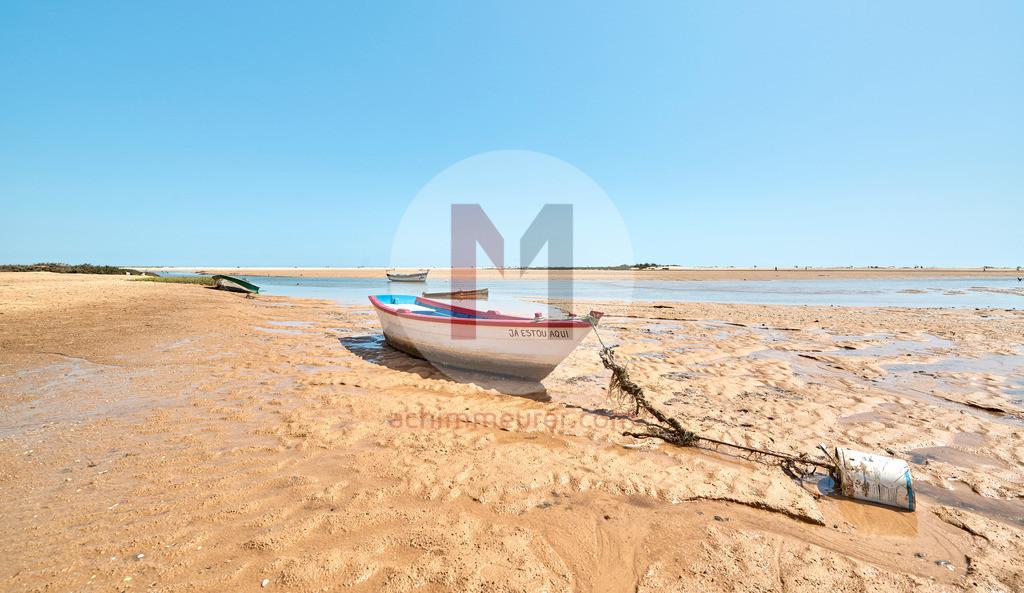 Cacela Velha an der Ostküste der Algarve in Portugal
