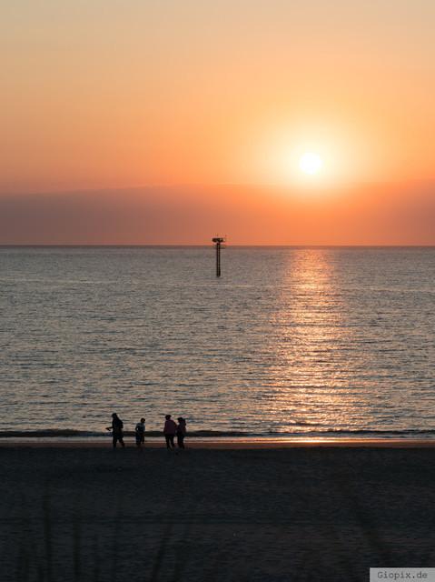 Sonnenuntergang Renesse Beach | Sonnenuntergang am Renesse Beach im Sommer 2018