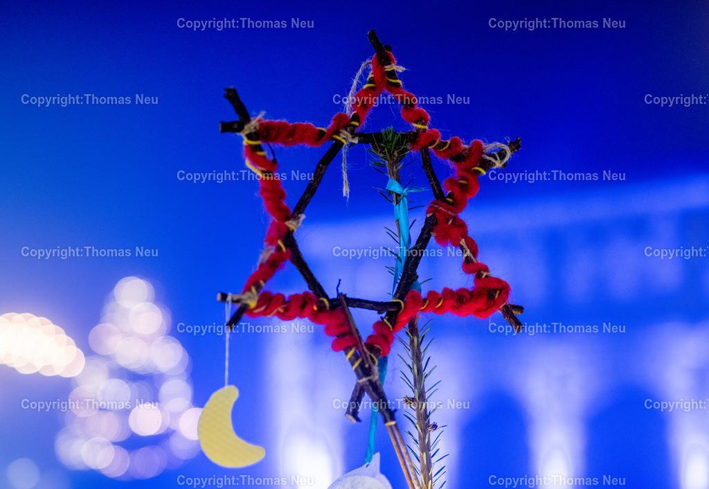 DSC_3926 | ble,Lorsch, blaues Weihnachtswunder, Innenstadt, ,, Bild: Thomas Neu
