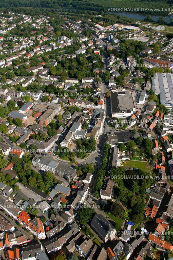 KT10094276 | Steinweg, Kettwig, Ruhr, Luftbild,  Essen, Ruhrgebiet, Nordrhein-Westfalen, Germany, Europa, Foto: hans@blossey.eu, 05.09.2010