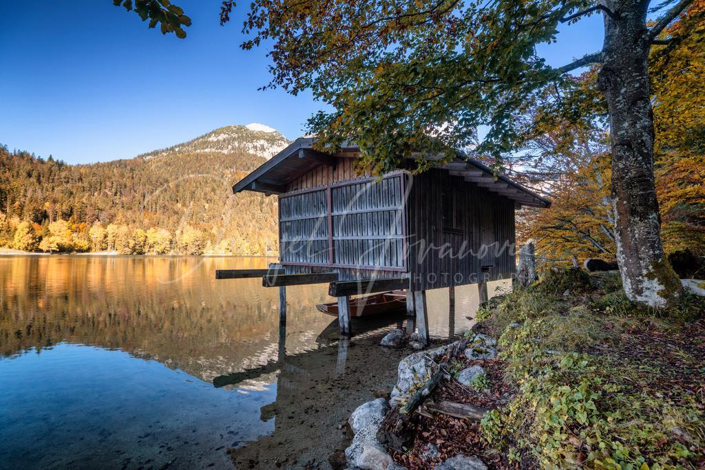Hintersteiner See | Herbst am Hintersteiner See