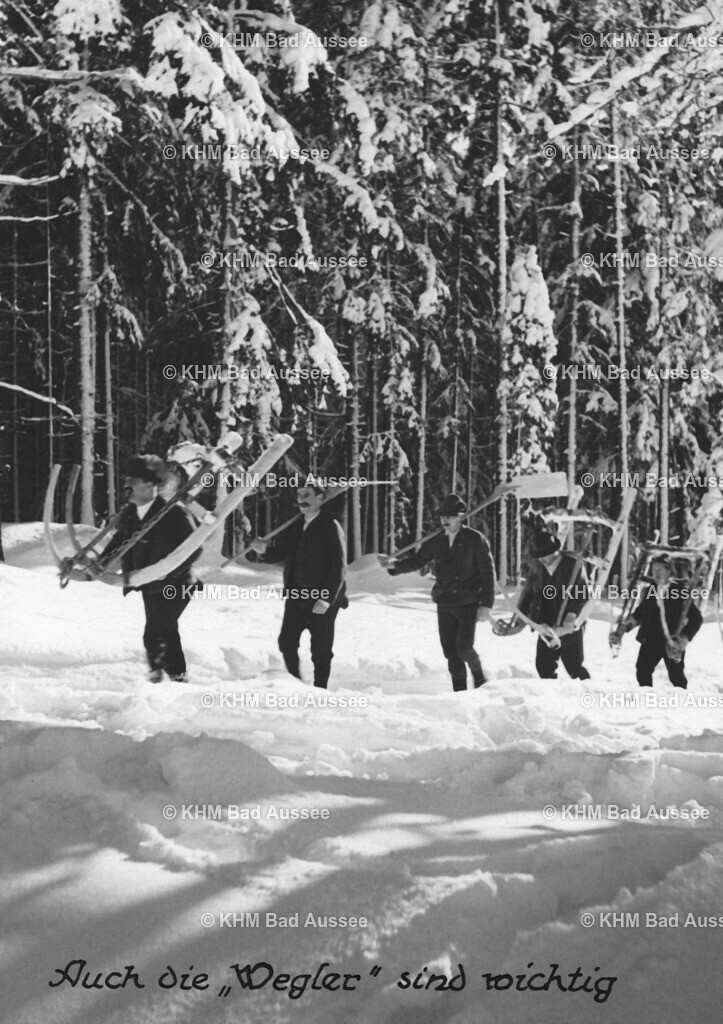 Holzknechte_Winter_01 | Holztransport im Winter 1