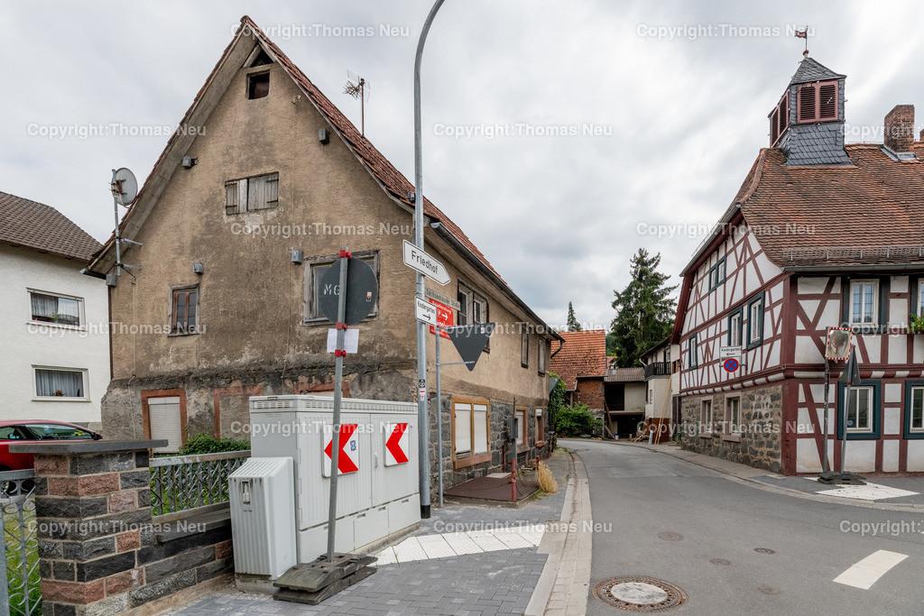 DSC_6466   Lautertal, Sachsenhäuser Straße 2, Haus soll abgerissen werden, ,, Bild: Thomas Neu